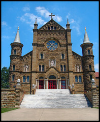Welcome to St. Meinrad Archabbey - by cindy47452