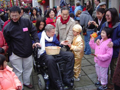 Sam Sullivan in Chinatown