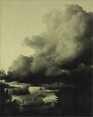 Cotton cloud (Kirsten M Lentoft) Tags: sky bw clouds momse2600 diamondclassphotographer flickrdiamond thegoldenmermaid kirstenmlentoft
