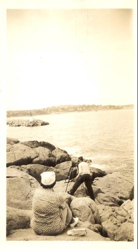 Vintage artist photo