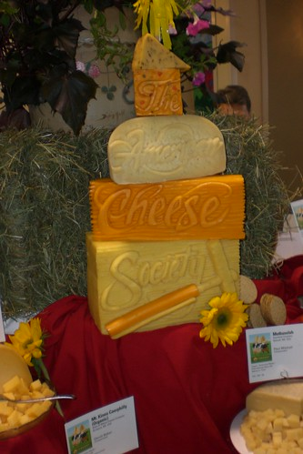 I love cheese sculpture