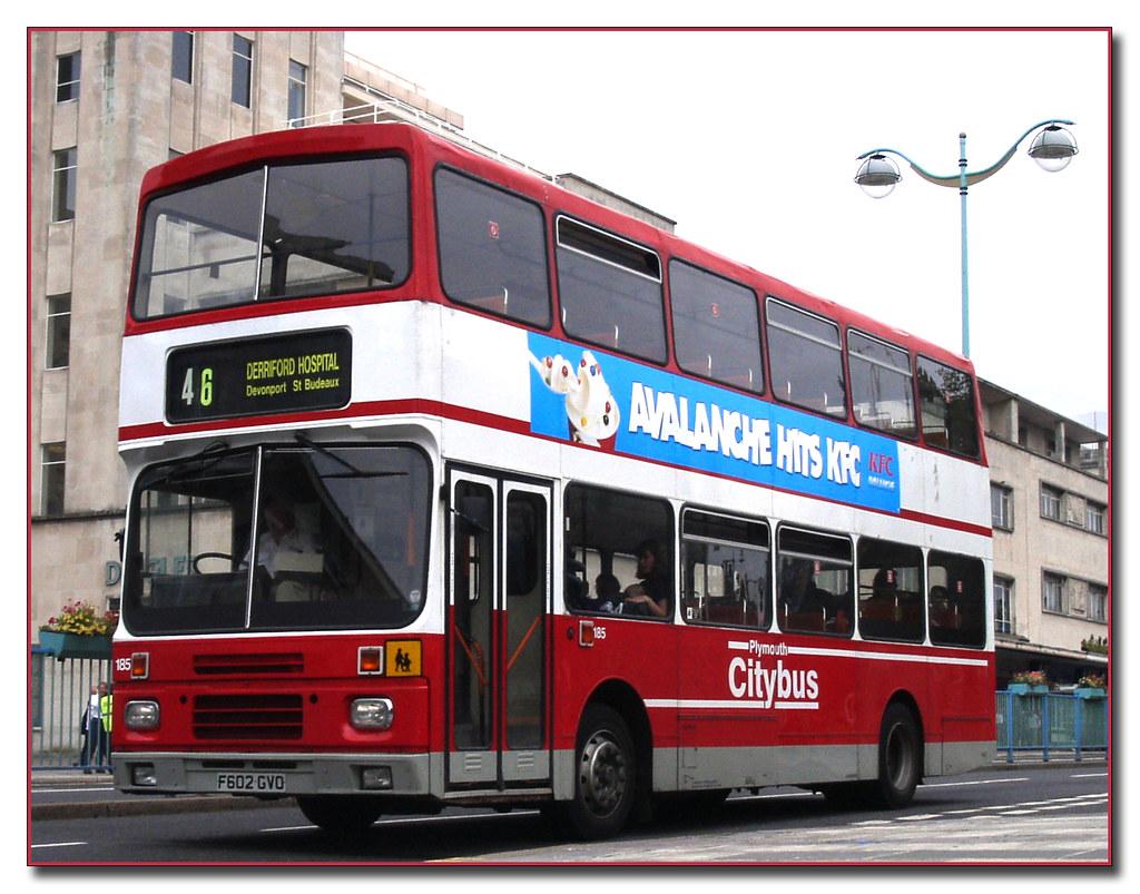 Plymouth Citybus 185 F602GVO