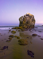 Pour Emily (ec808x) Tags: longexposure seascape 20d beach night canon rocks wideangle landsend startrails canon1022mm