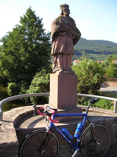 Brückenheiliger in Bürgstadt bei Miltenberg