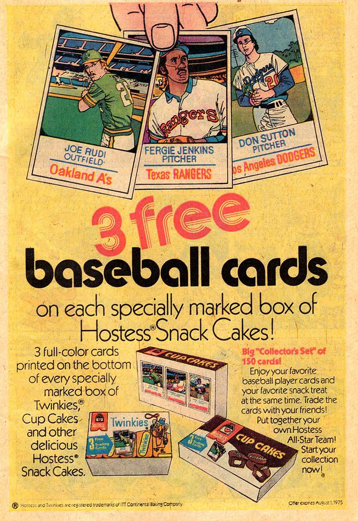 Vintage Ad #334: Hostess Baseball Cards