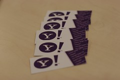 New moo business cards (cackhanded) Tags: yahoo office moo businesscards webdevelopment yahooeurope moocards
