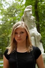 _MG_2872 (tiroy) Tags: park family sculpture girl beautiful statue pretty portait poland teenager warsaw ola azienki