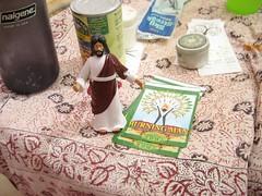 Jesus @ Burning Man Stickers