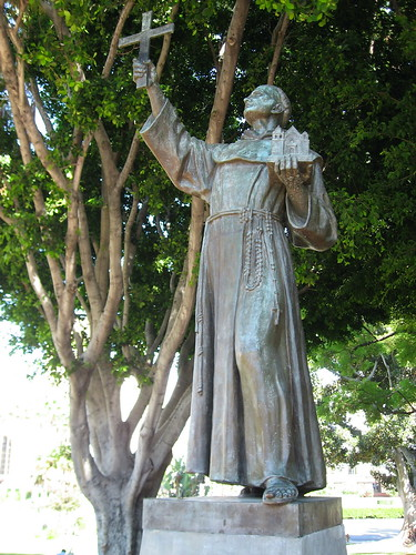 Father Junipero Serrs Statue