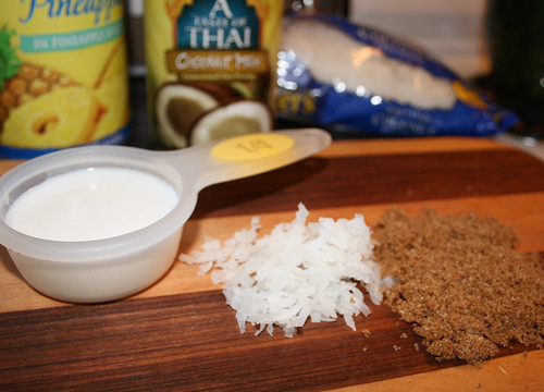 HAWAIIAN BURGER - Main ingredients