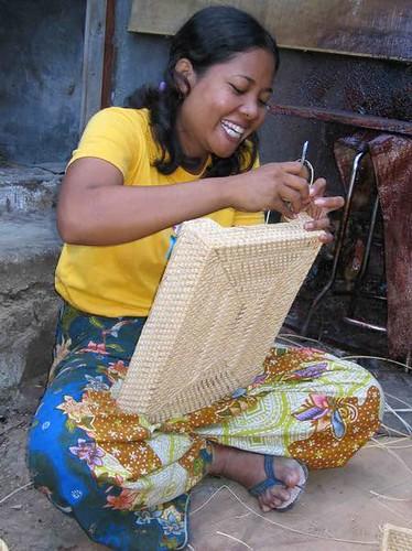 Lombok Handicraft Baskets