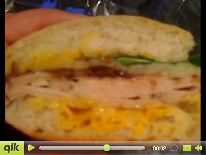 Yellow Mustard Turkey Sandwich Video