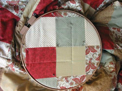 O meu primeiro quilt