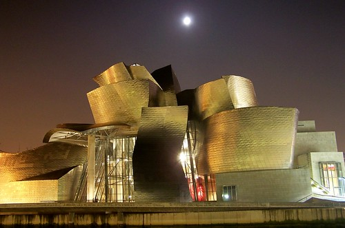 Magic night - Guggenheim Bilbao