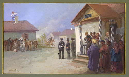 006-Reunion militar de jefes cosacos en Siberia