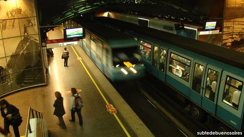 Pedro de Valdivia, Línea 1 | Metro de Santiago