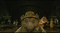 Fantastic Mr. Fox (2009) (Awkward Boy Hero) Tags: dvd screenshot kylie movies wesanderson georgeclooney 2009 opposum fantasticmrfox fishermanshat wallacewolodarsky iwatchalotofmovies awkwardboyhero