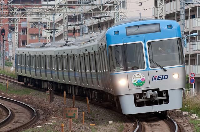京王電鉄井の頭線1000系 1028F 試運転