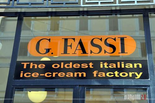 130 anniversario della gelateria Fassi
