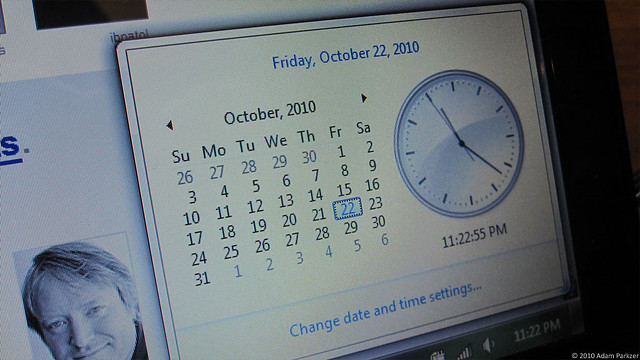 Windows 7 Clock