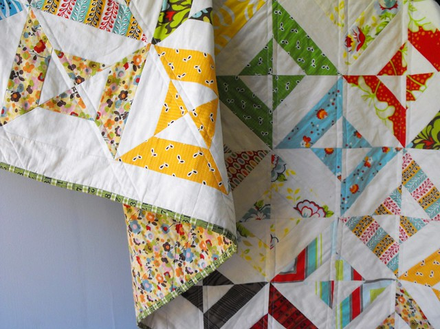 double hourglass quilt