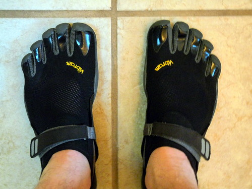 vibram five fingers treksport