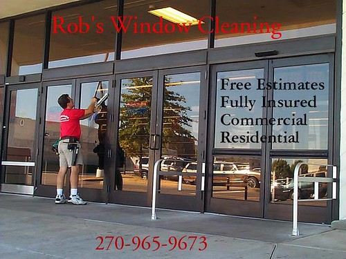 Rob's Window Cleaning Commercial Shot 1
