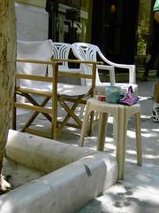 Καρέκλες και τραπεζάκι αλα Ελληνικά