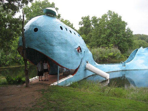 Me and Stephanie in the Blue Whale