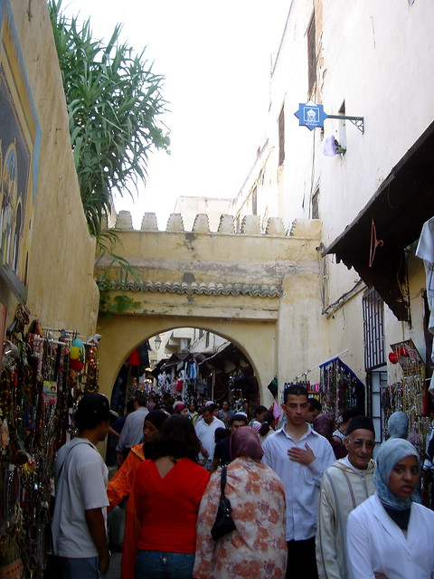 Traffic in the Medina