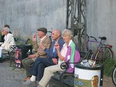 Old people (Sakena) Tags: old people nørrebro copenhagen canonixus50 sakena sakenajamig