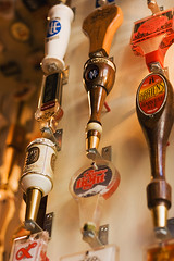 Beer Tap Handles at Von's