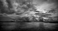 STORMY SEAS (manu_antigua) Tags: ocean sea sky sun storm water asia philippines scenic scene rainyseason