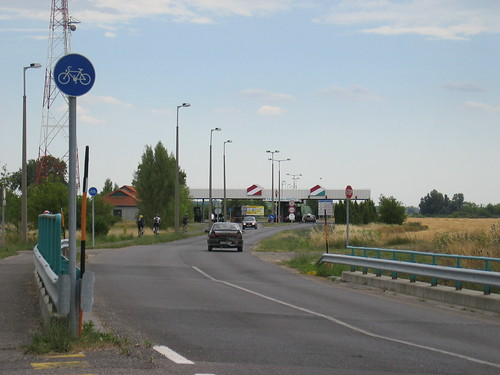 Hungarian Border Crossing