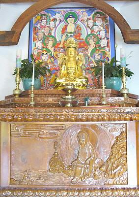 Dharma room altar