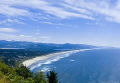 Oswald West State Park (S2J Photography) Tags: blue usa beach nature water clouds oregon coast landscapes rocks coastline oregoncoast oswaldweststatepark oswaldstatepark ottawarefugee