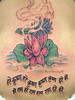 lotus flower Tattoo Tattooed at The