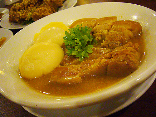 braised pork meat