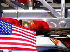 Patriotic Firetruck