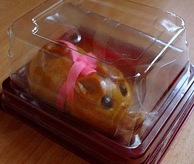 Piggy biscuit packaging