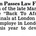 Marcus Garvey's Son, Marcus J. Garvey, Passes Law Finals in England - Jet Magazine September 8, 1955