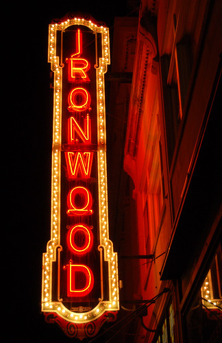 Ironwood Theatre Marquee
