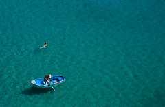 Transparent Sea (Per@Flickr) Tags: travel sea people color swimming swim geotagged boat fisherman nikon hellas greece transparent soe cyclades amorgos egiali 5photosaday ls50 theunforgettablepictures theperfectphotographer dragondaggerphoto exploremar1420098 wbcustom adobephotoshopcs4windows