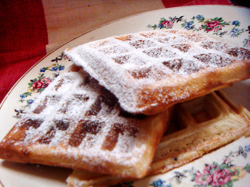 Waffles from Dorie Greenspan's book