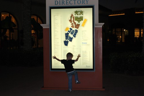 Climbing the Directory Sign