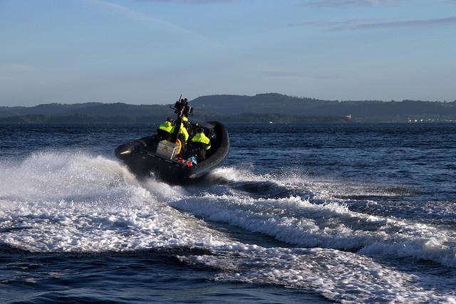 RIB-kjøring er en populær aktivitet på Oslofjorden.