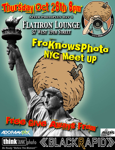 The Second Biggest Party of Photo Plus the FroKnowsPhoto NYC Meet Up