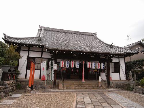 新薬師寺近くに建つ小さな古刹『不空院』奈良市高畑