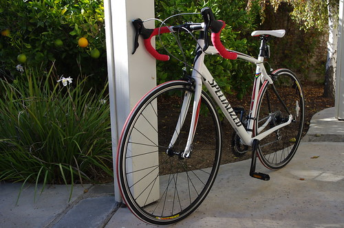 Road bikes:  2009 Specialized Tarmac Pro SL Dura-Ace and 2010 Specialized Allez Comp Compact