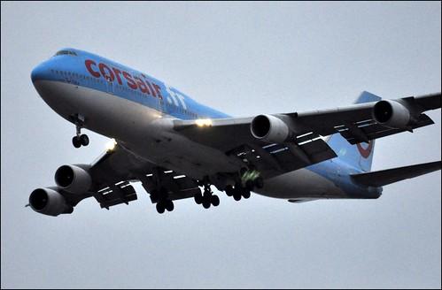 F-GTUI Corsairfly 747-400